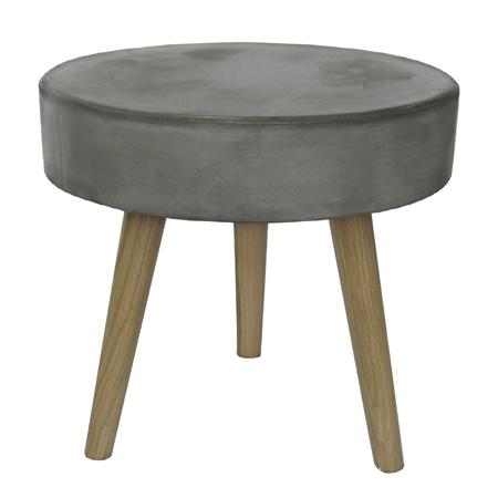 Aspen Mini Table Grey Ø40