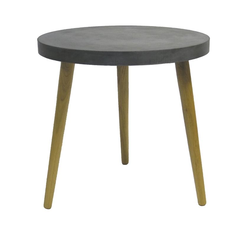 Aspen Round Table Black Ø40