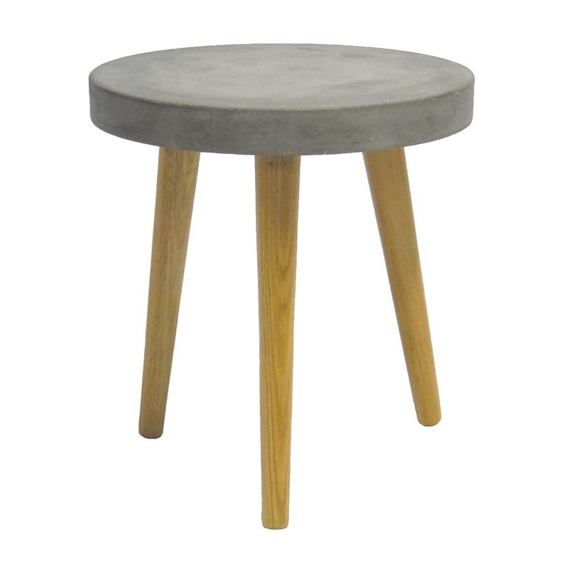 Aspen Round Table Grey Ø40