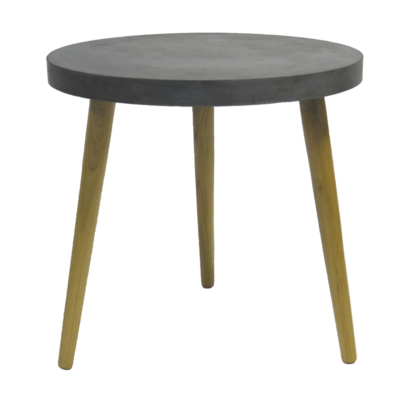 Aspen Round Table Black Ø50