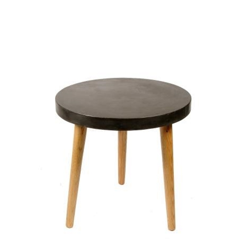 Aspen Round Table Black Ø60