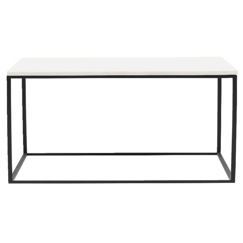 Coffee Table White Marble