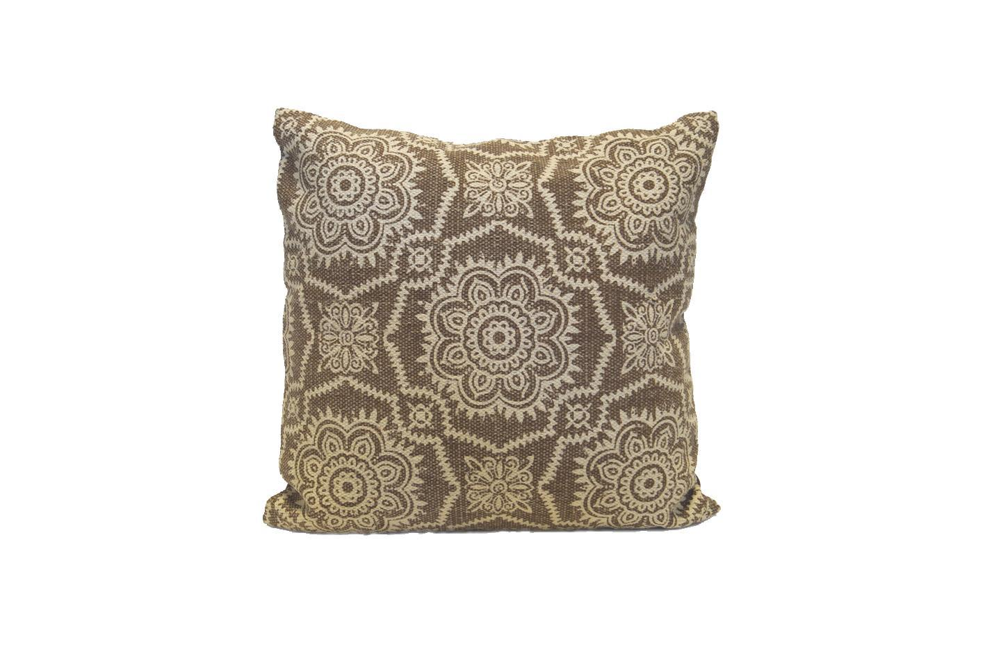 Pillow Light Brown Pattern L
