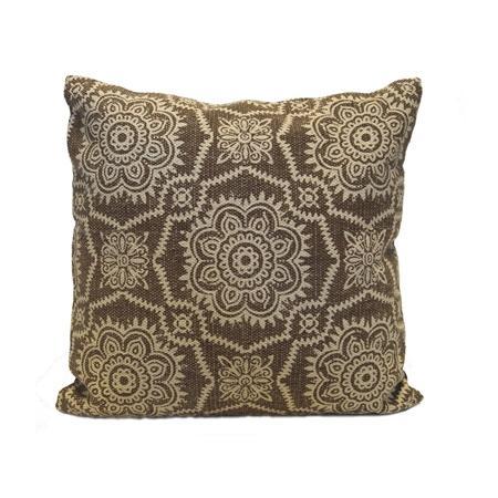 Pillow Light Brown Pattern XL