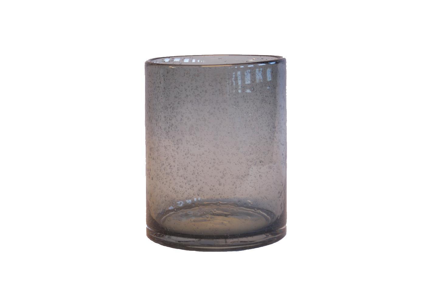 Glass w/Bubbles Grey L