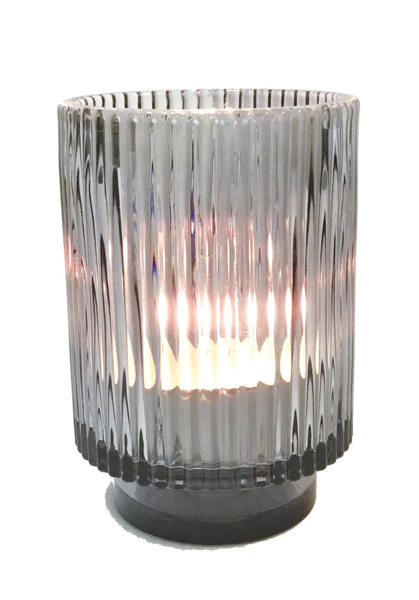Glass Stripes Grey