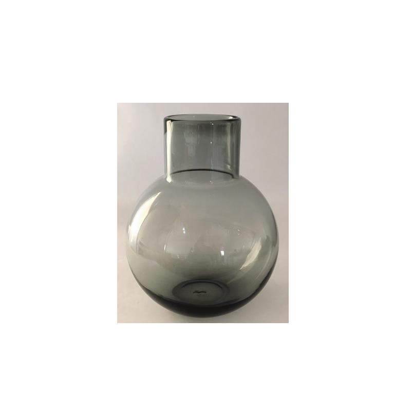 Glass Vase Grey L