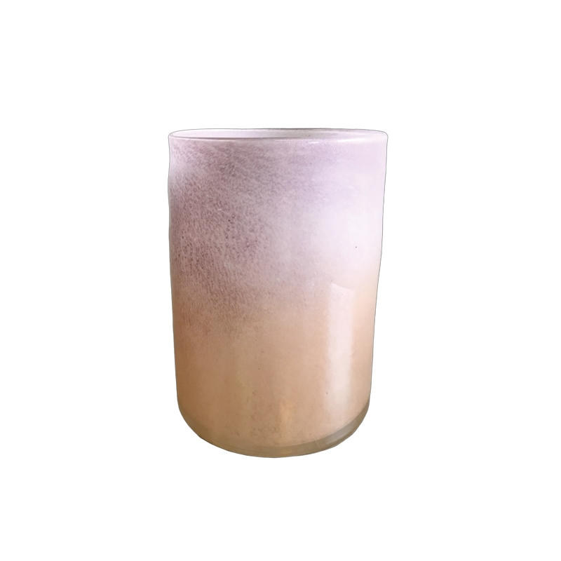 Glass  Creamy Pink