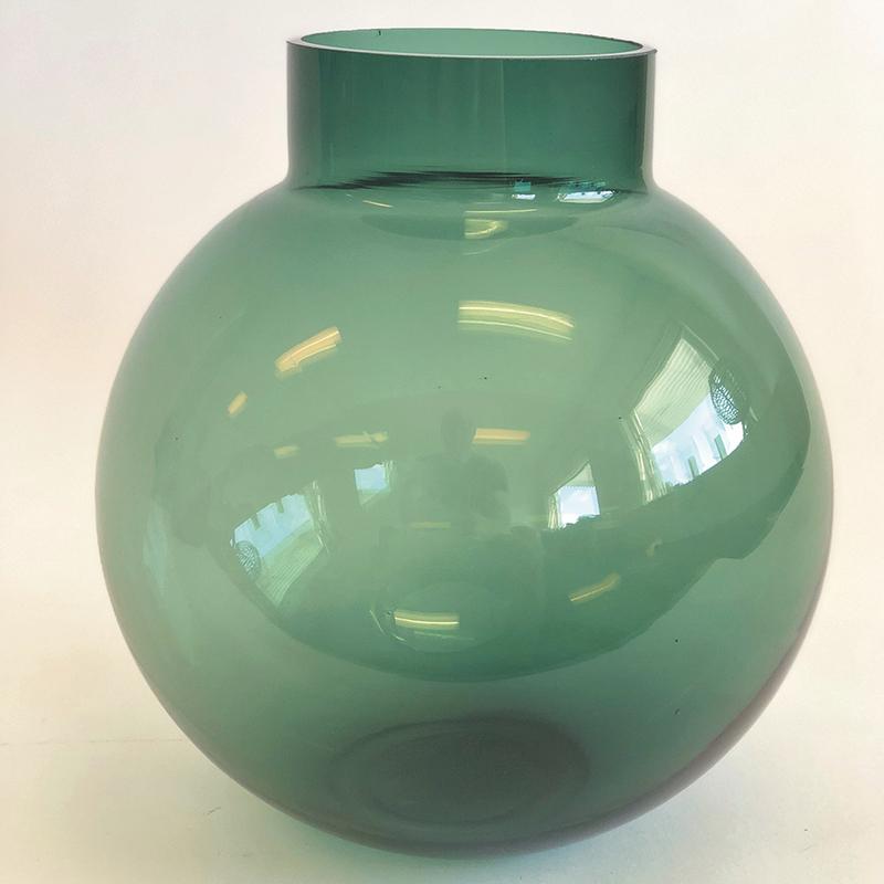 Glass Vase Green