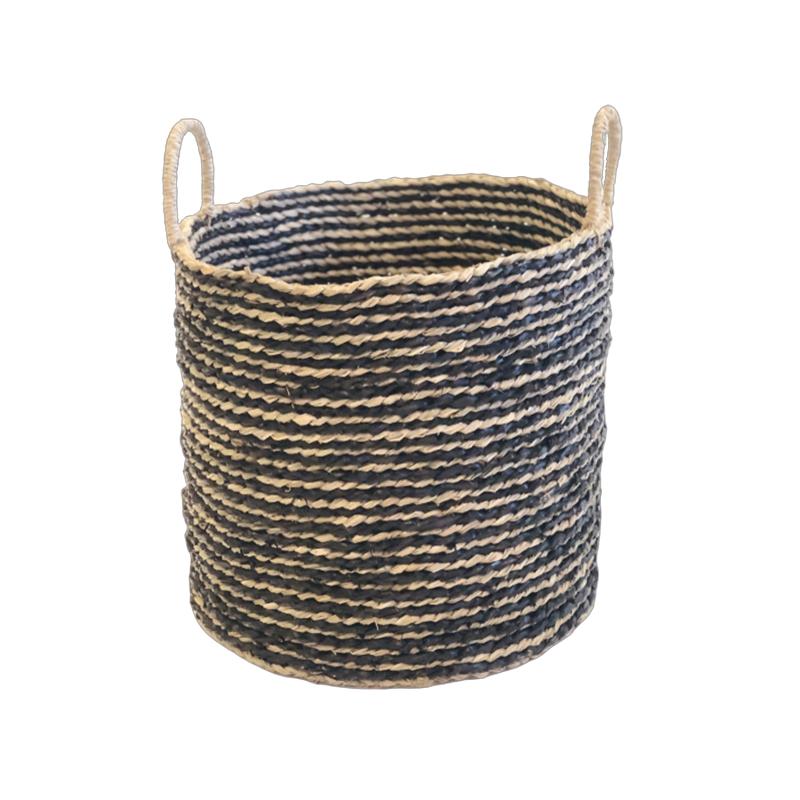 Basket Seagrass Nature/Bla.S/3