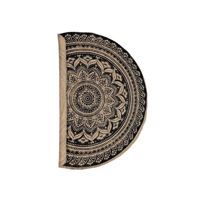 Carpet Jute Natur Bla.pattern