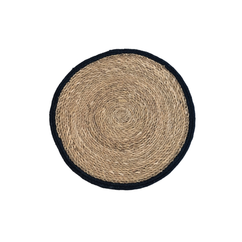 Placemat Seagrass Nature/Black
