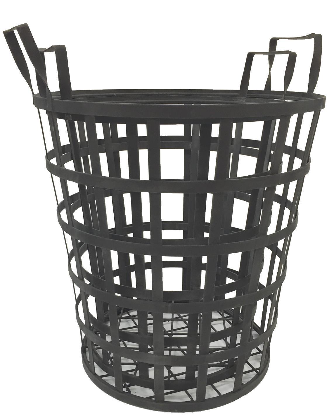 Basket Iron Round Set of 2