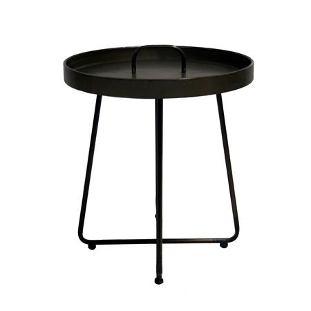 Metal Table Round w/Handle