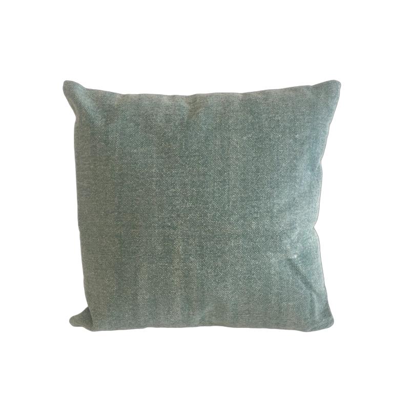 Pillow Faded Denim
