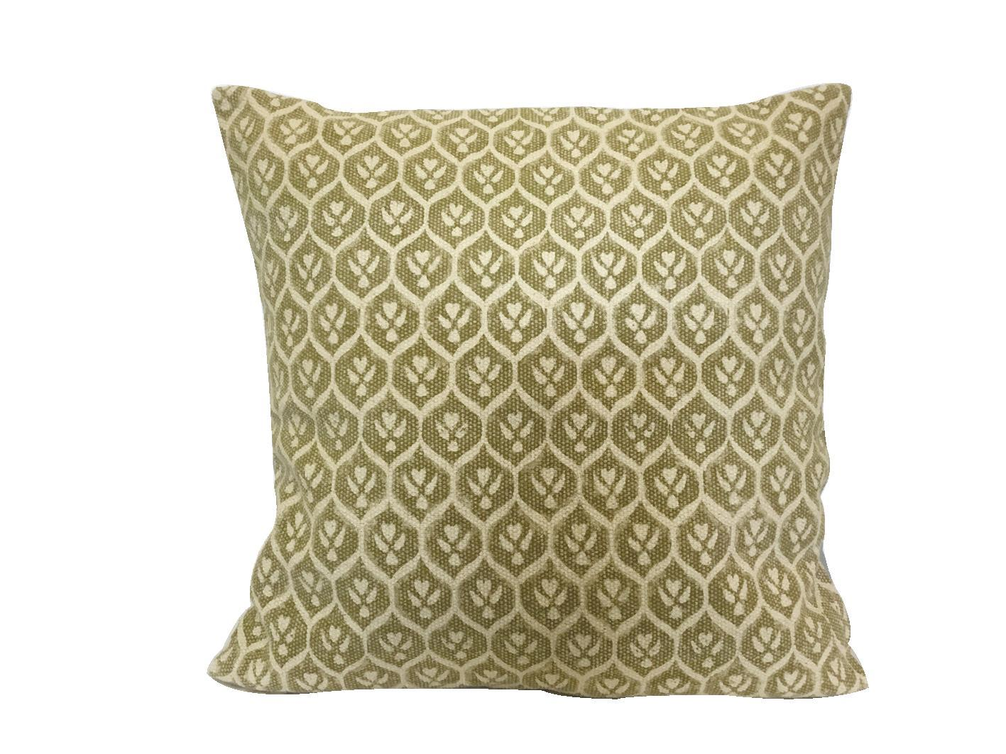 Pillow Oliven Pattern
