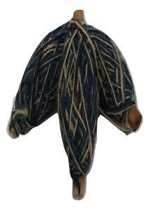 Flaxcord Tricolore Dark Blue