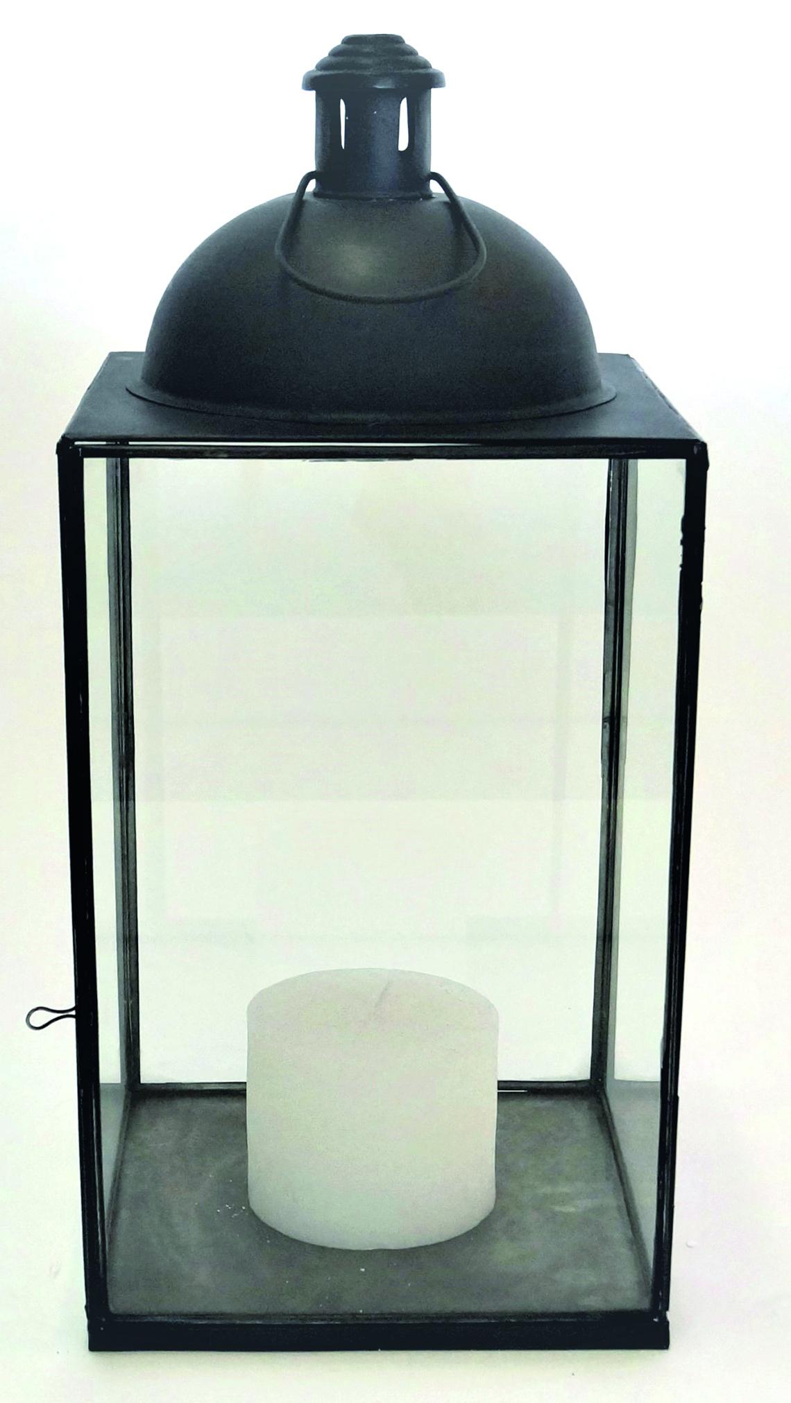 Lantern Black Iron