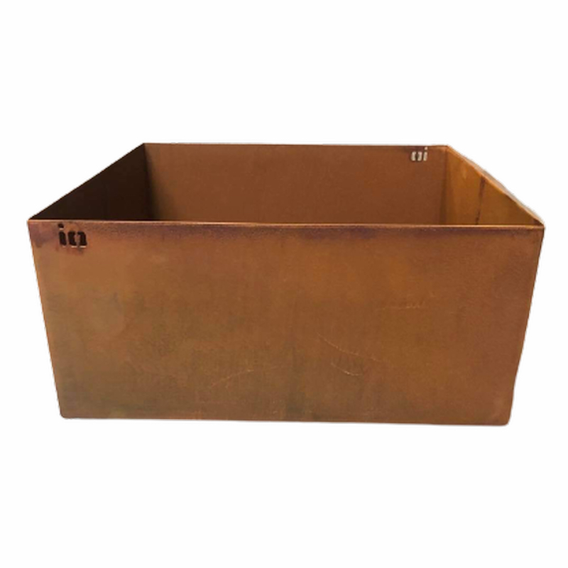 io Design Planter Box Steel