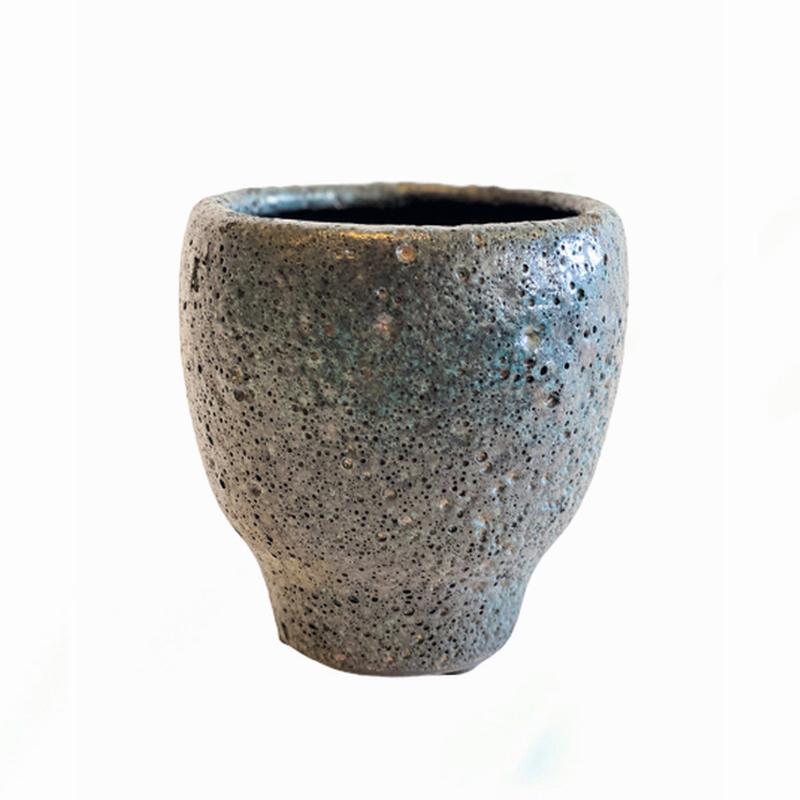 Almine Pot L Retro Blue