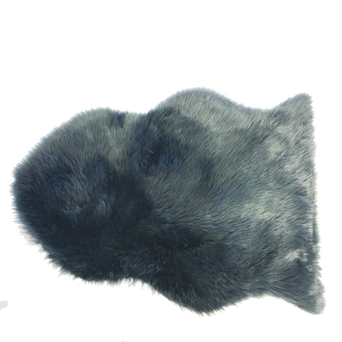 Artificial Sheepskin Grey