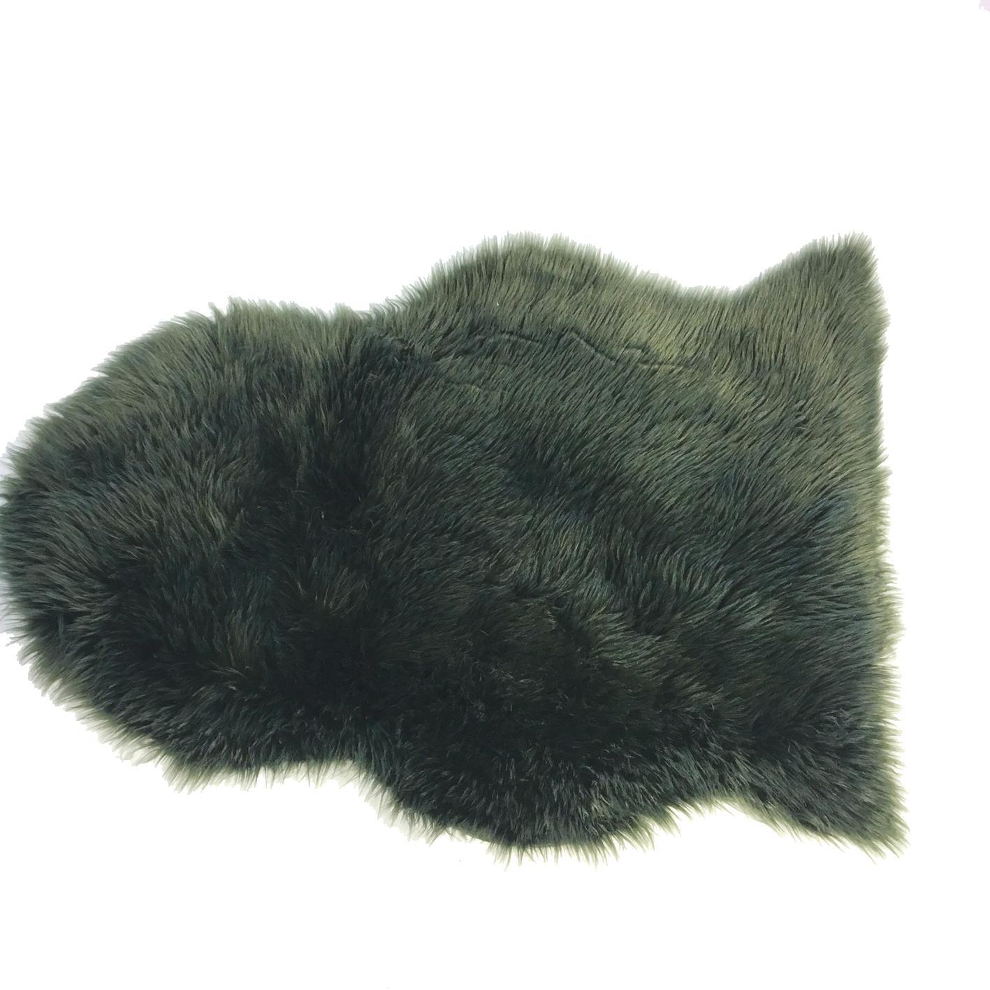 Artificial Sheepskin Dust Gree
