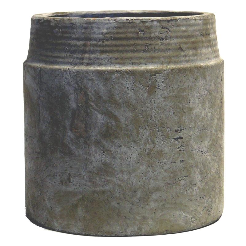Sine pot L Grey