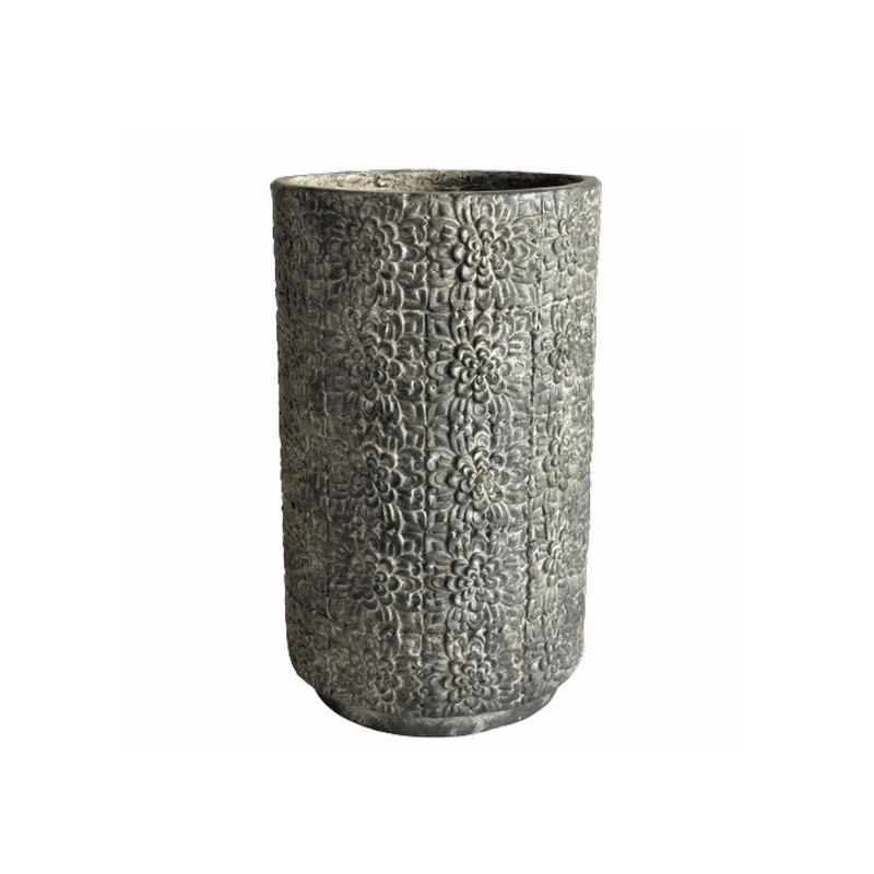 Cornelia Pot Dark Grey