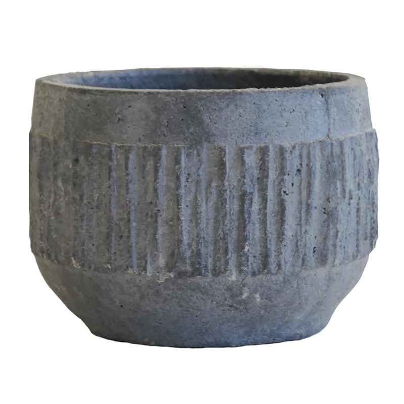 Vilde Pot L Washed Grey