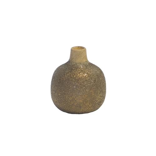 Medina Vase Rustic Gold