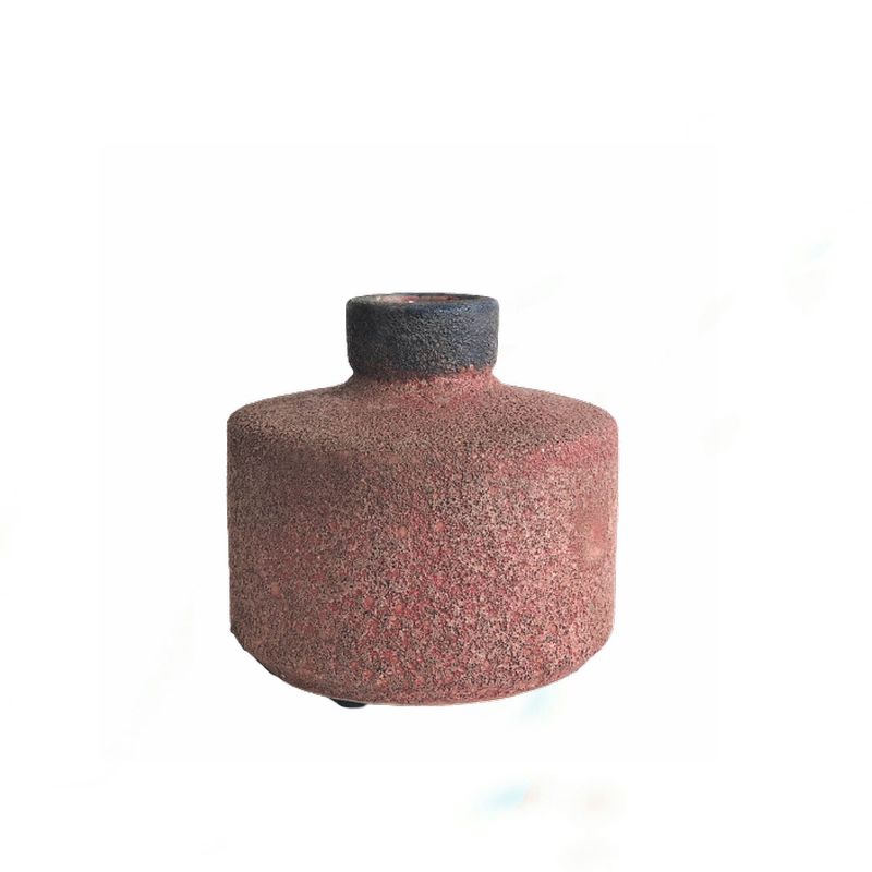 Vibe Vase Rustic Red