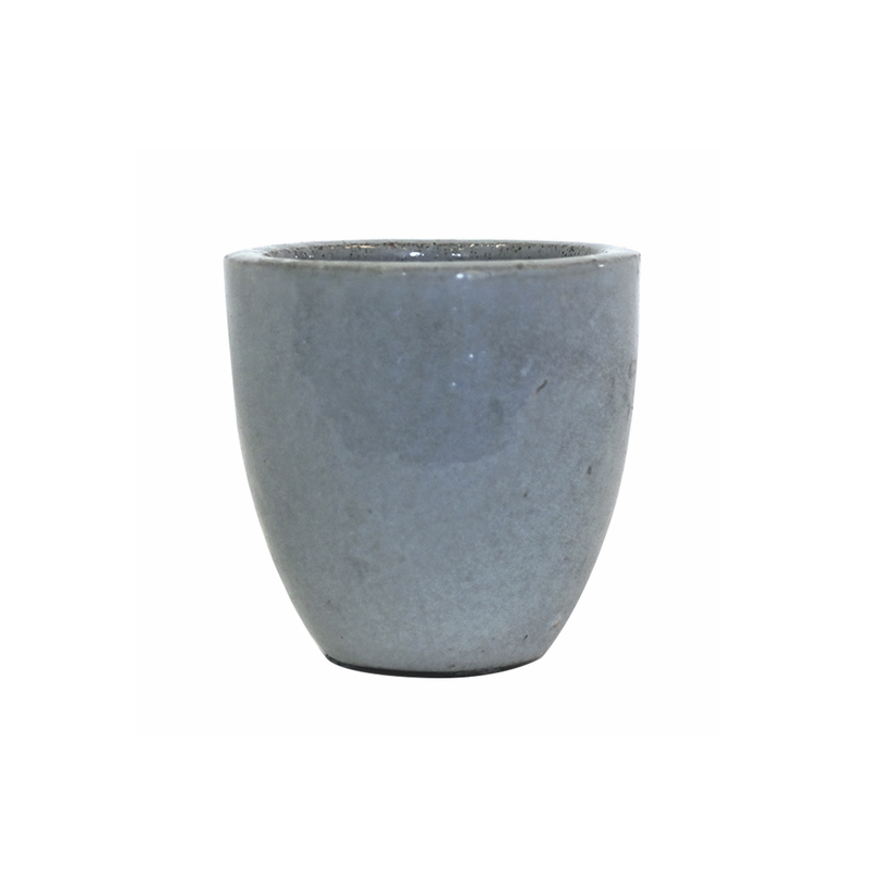 Egg Pot s/2 OCG Light Blue