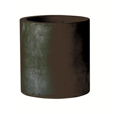 Cylinder Planter s/2 Black