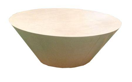 Orbit Lounge Table Ivory