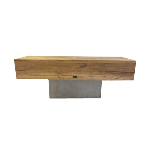 Fino Bench with teak top