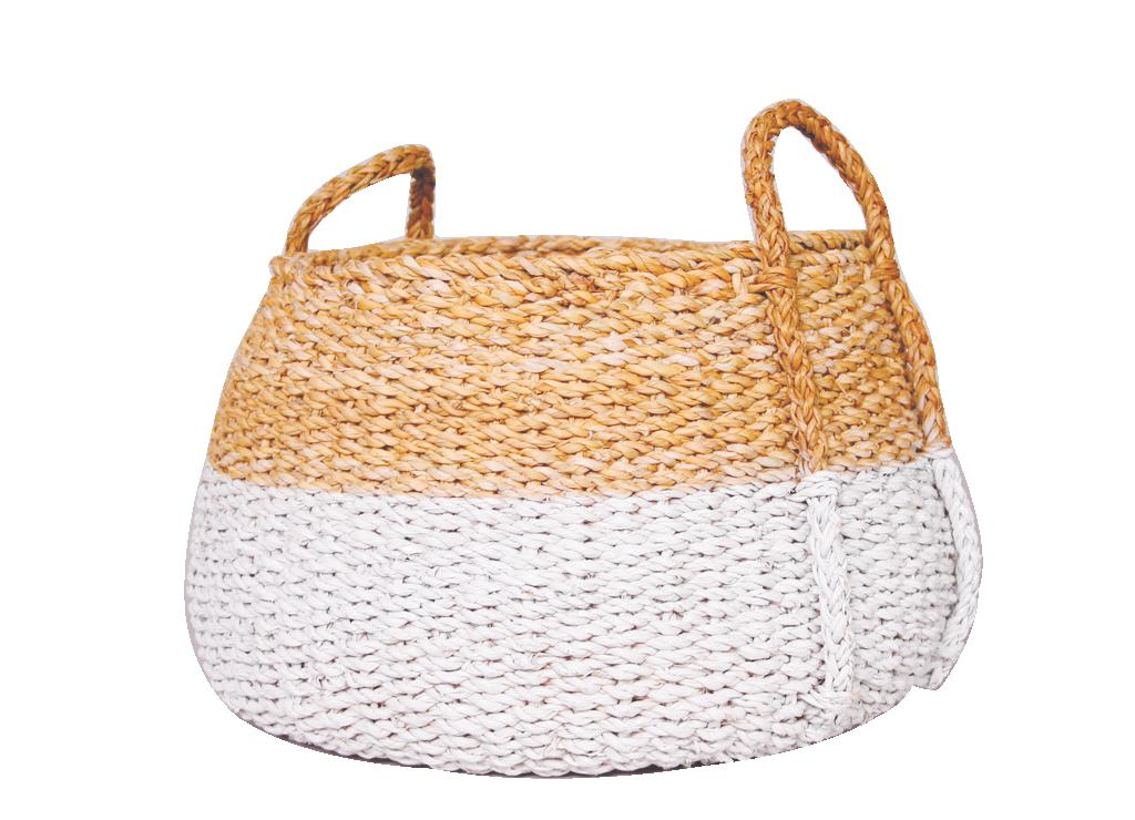 Baskets set of 3 White