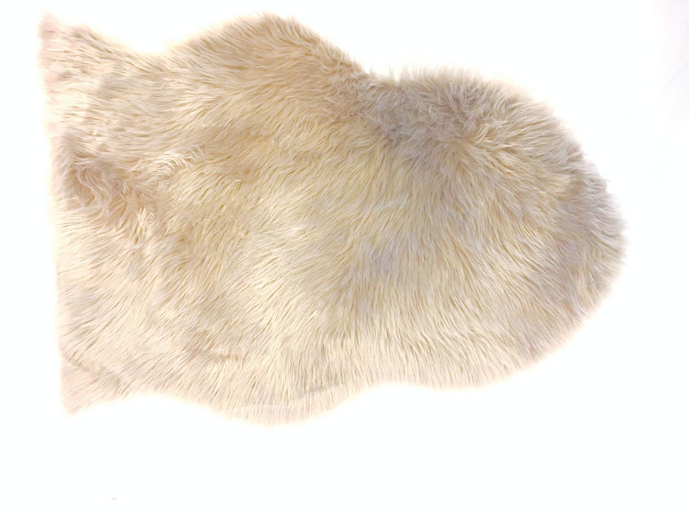Artificial Sheepskin White