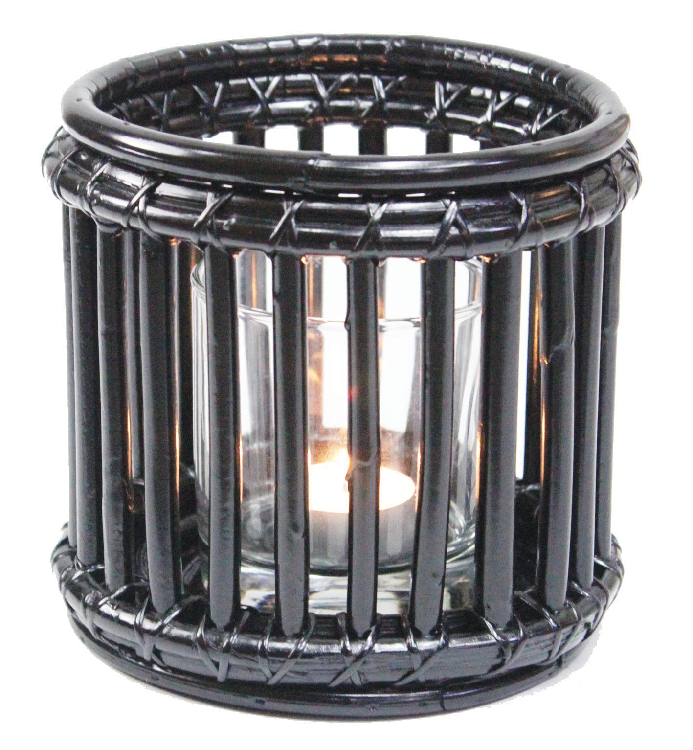 Lantern Black 1 glass
