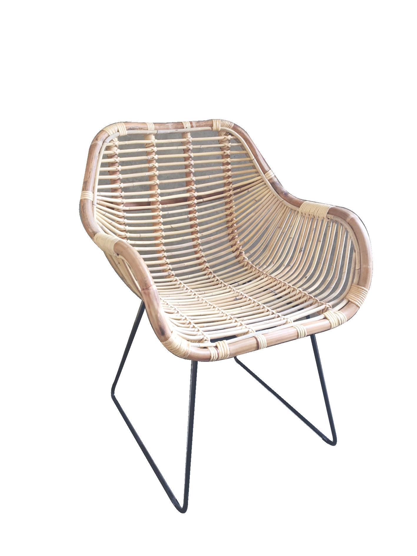 Chair Rattan Blond