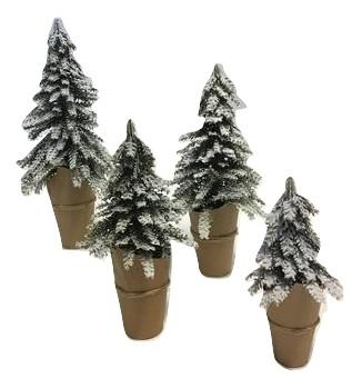 X-mas Tree w/snow XS