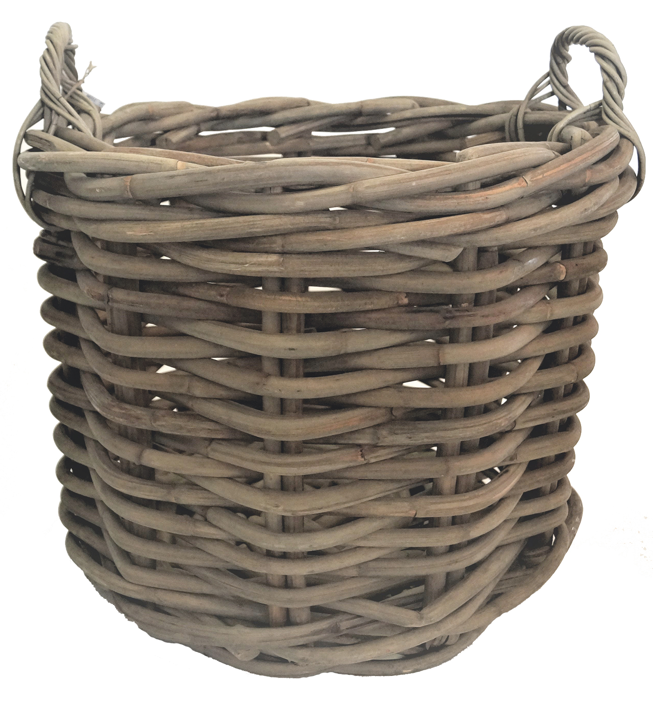 Basket Round set of 3 w/handle