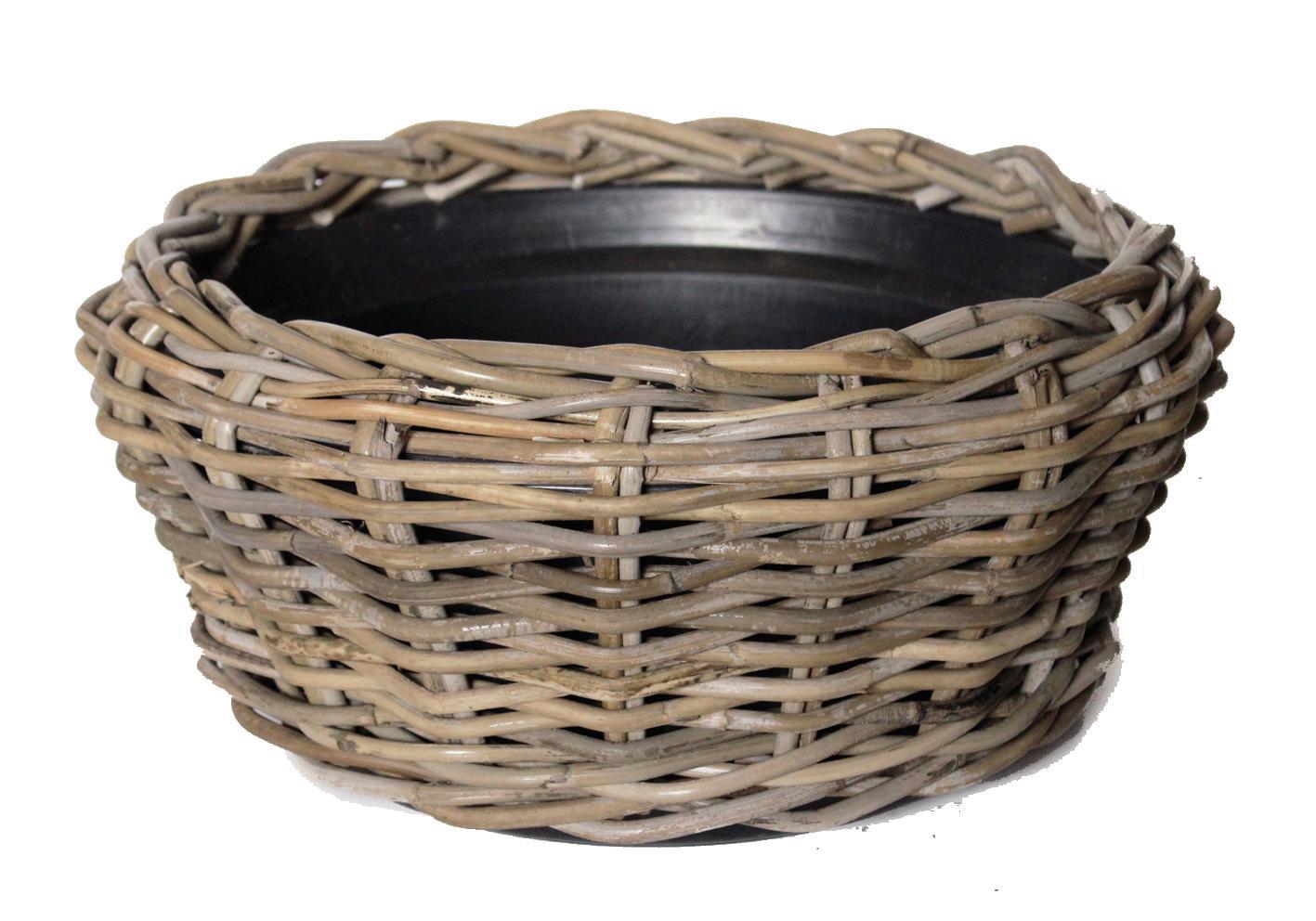 Basket Drypot Bowl Low Ø46