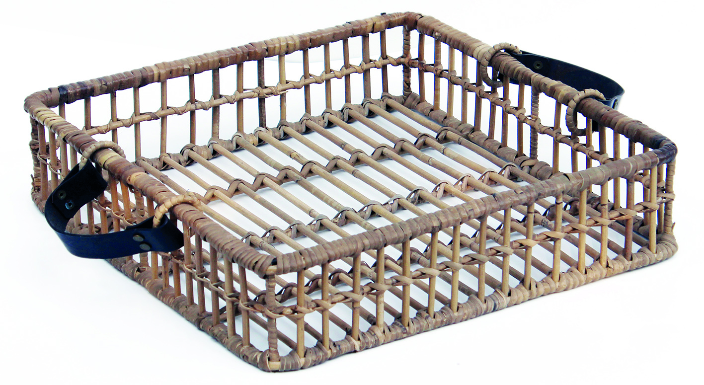 Tray Open Rattan