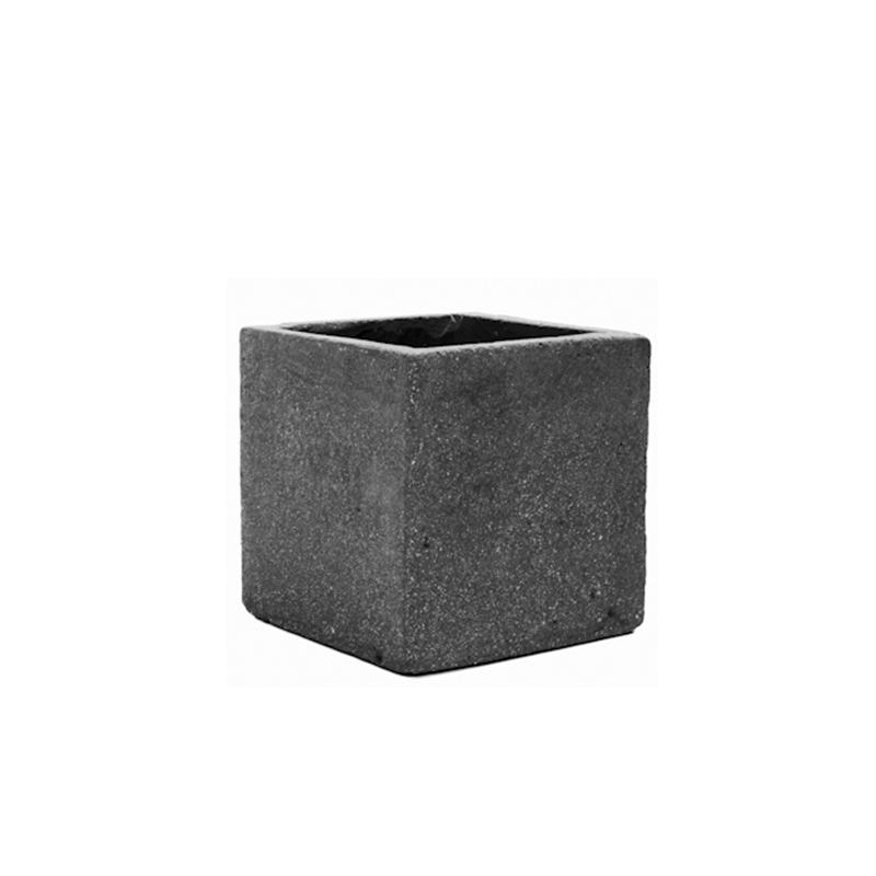 Fleur square Grey