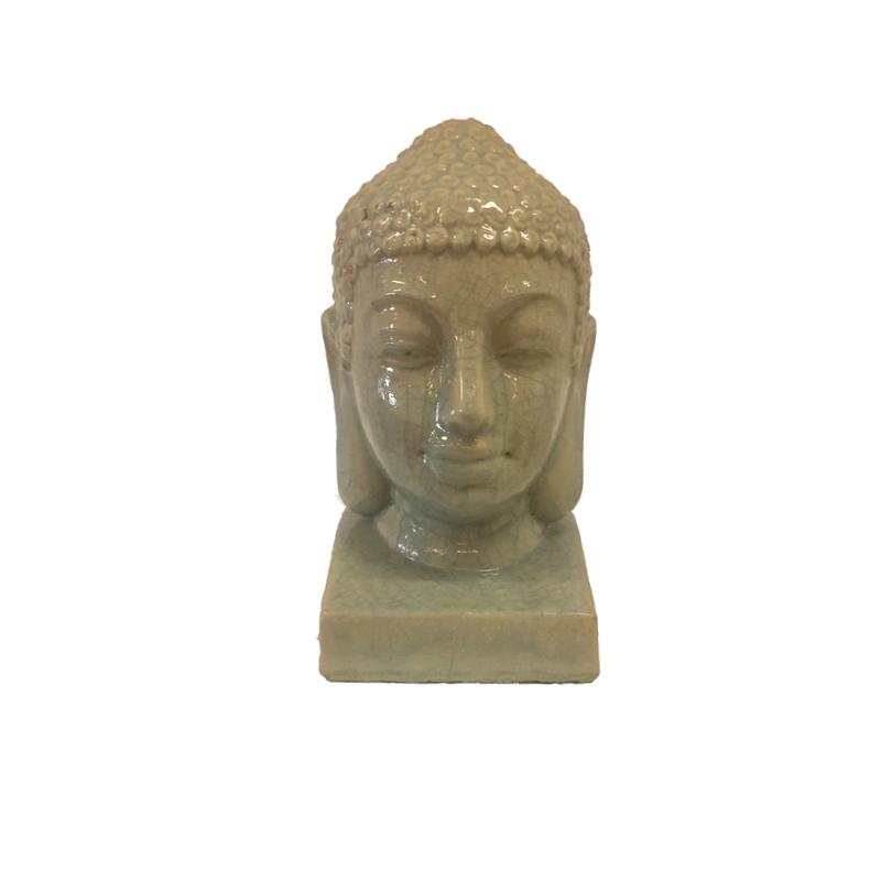 Buddha Medium Aqua glaced