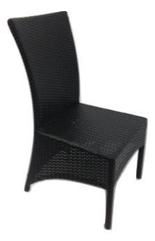 Classic stol m/høj ryg polyfl.